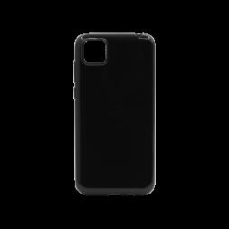 Huawei Y5p - Gumiran ovitek (TPU) - črn svetleč