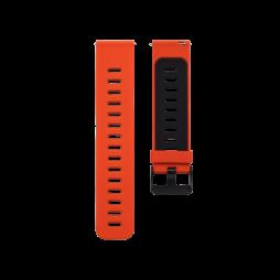 Silikonski pašček (22mm) - rdeče-črn