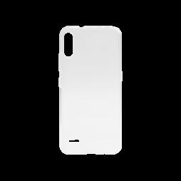 LG K22 - Gumiran ovitek (TPU) - prosojen svetleč