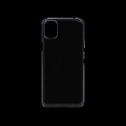LG K42 - Gumiran ovitek (TPU) - črn svetleč
