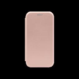 Apple iPhone 12/ 12 Pro - Preklopna torbica (WLS) -  roza-zlata