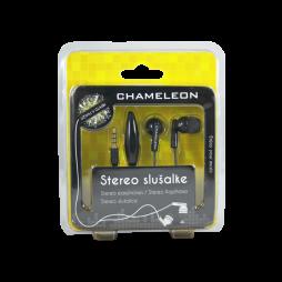 3.5 Stereo slušalke z mikrofonom Chameleon 1051 črne