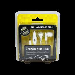 3.5 Stereo slušalke z mikrofonom Chameleon 1051 bele