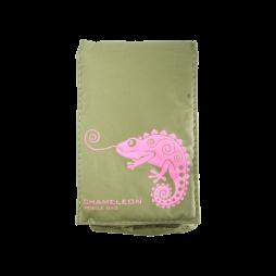 Chameleon Fun Chameleon (žepek) - vojaško zelena, roza kameleon