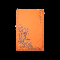 Chameleon Fun Flower (žepek) - oranžna, črna roža
