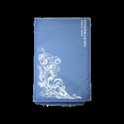 Chameleon Fun Flower (žepek) - svetlo modra, bela roža