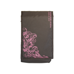 Chameleon Fun Flower (žepek) - rjava, roza roža