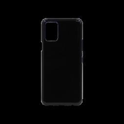 LG K52 - Gumiran ovitek (TPU) - črn svetleč