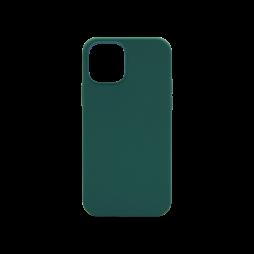 Apple iPhone 12/ 12 Pro - Silikonski ovitek (liquid silicone) - Soft - Dark Green