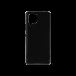 Samsung Galaxy A42 5G - Gumiran ovitek (TPU) - črn svetleč