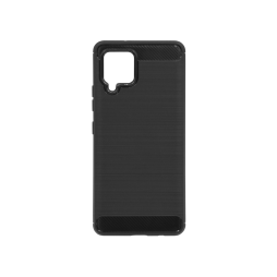 Samsung Galaxy A42 5G - Gumiran ovitek (TPU) - črn A-Type