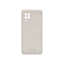 Samsung Galaxy A42 5G - Gumiran ovitek (TPU) - siv M-Type