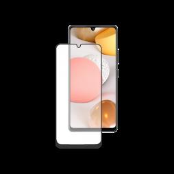 Samsung Galaxy A42 5G - Zaščitno steklo Premium - črno do roba (0,30)