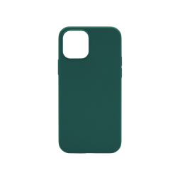 Apple iPhone 12 Pro Max - Silikonski ovitek (liquid silicone) - Soft - Dark Green