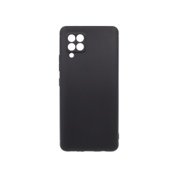 Samsung Galaxy A42 5G - Gumiran ovitek (TPU) - črn MATT