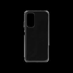 Xiaomi Mi 10T / Pro - Gumiran ovitek (TPU) - črn svetleč