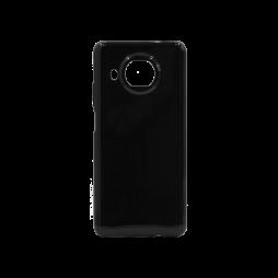 Xiaomi Mi 10T Lite - Gumiran ovitek (TPU) - črn svetleč