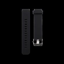 Silikonski pašček (18mm) - črn