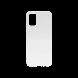 Samsung Galaxy A02s - Gumiran ovitek (TPU) - prosojen svetleč