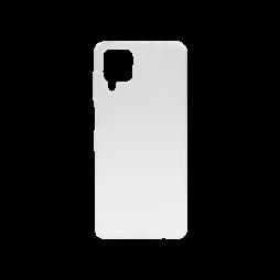 Samsung Galaxy A12 - Gumiran ovitek (TPU) - prosojen svetleč