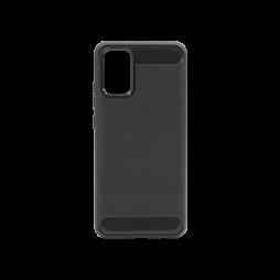 Samsung Galaxy A02S - Gumiran ovitek (TPU) - črn A-Type