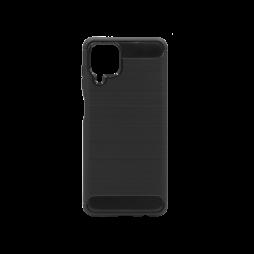 Samsung Galaxy A12 - Gumiran ovitek (TPU) - črn A-Type