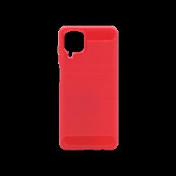 Samsung Galaxy A12 - Gumiran ovitek (TPU) - rdeč A-Type