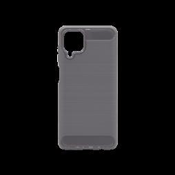 Samsung Galaxy A12 - Gumiran ovitek (TPU) - siv A-Type