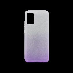 Samsung Galaxy A02S - Gumiran ovitek (TPUB) - vijolična