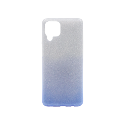 Samsung Galaxy A12 - Gumiran ovitek (TPUB) - modra