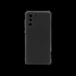 Samsung Galaxy S21 - Gumiran ovitek (TPU) - črn MATT