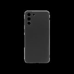 Samsung Galaxy S21+ - Gumiran ovitek (TPU) - črn MATT