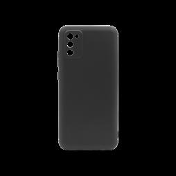 Samsung Galaxy A02S - Gumiran ovitek (TPU) - črn MATT