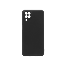 Samsung Galaxy A012 - Gumiran ovitek (TPU) - črn MATT