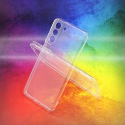 Samsung Galaxy S21 - Gumiran ovitek (TPUA) - prosojen