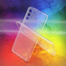 Samsung Galaxy S21+ - Gumiran ovitek (TPUA) - prosojen