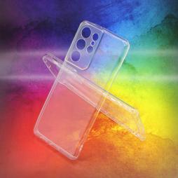 Samsung Galaxy S21 Ultra - Gumiran ovitek (TPUA) - prosojen