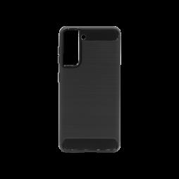Samsung Galaxy S21 - Gumiran ovitek (TPU) - črn A-Type