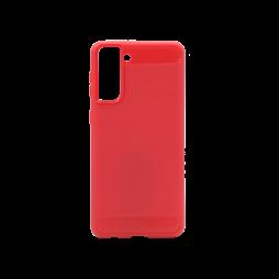 Samsung Galaxy S21+ - Gumiran ovitek (TPU) - rdeč A-Type