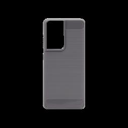 Samsung Galaxy S21 Ultra - Gumiran ovitek (TPU) - siv A-Type