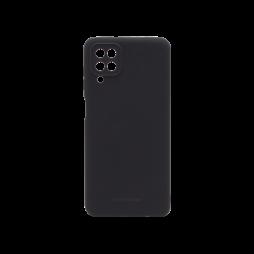 Samsung Galaxy A12 - Gumiran ovitek (TPU) - črn M-Type