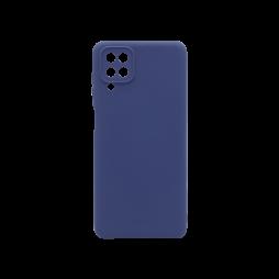 Samsung Galaxy A12  - Gumiran ovitek (TPU) - modra M-Type