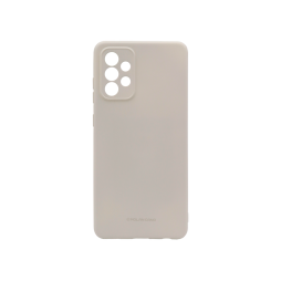 Samsung Galaxy A72 5G - Gumiran ovitek (TPU) - siv M-Type