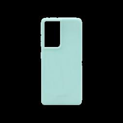 Samsung Galaxy S21 Ultra - Gumiran ovitek (TPU) - mint M-Type