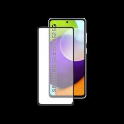 Samsung Galaxy A52/ A52 5G/ A52s 5G - Zaščitno steklo Premium - črno do roba (0,30)