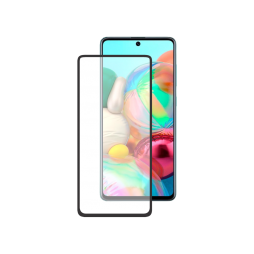 Samsung Galaxy A72 5G - Zaščitno steklo Premium - črno do roba (0,30)