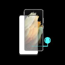 Samsung Galaxy S21 Ultra - Zaščitno steklo Premium - črno do roba (0,23)