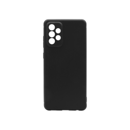 Samsung Galaxy A72 5G - Gumiran ovitek (TPU) - črn MATT