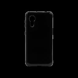 Samsung Galaxy Xcover 5 - Gumiran ovitek (TPU) - črn svetleč