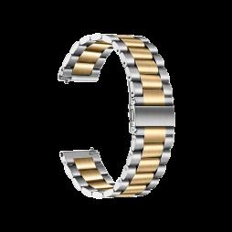 Kovinski pašček (20mm) - Silver Gold